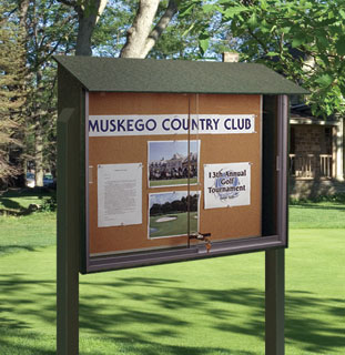 golf course message board