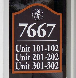 unit identification signs