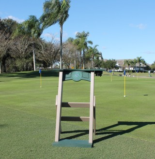 Golf Bag Stands